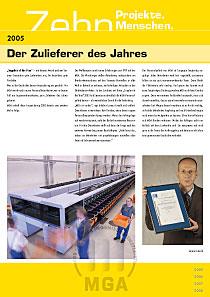 MGA-Broschüre – Innenseite 2005