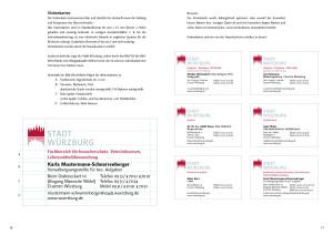 CD-Manual: Visitenkarten (Aufbau)