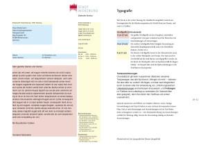 CD-Manual Ergänzung 1: Angaben zur Typografie in Word